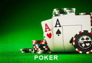 Bild zeigt Poker Karten und Pokerchips - Poker Bonus