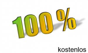 100% kostenlos