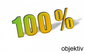 100% objektiv