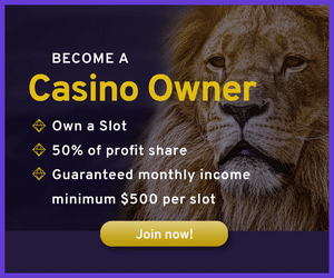 SupaInvest - Anteil an Spielautomaten - SupaInvest Banner